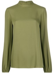 Theory Mock Neck Jersey Top 60