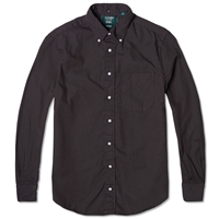 Gitman Vintage X End. Overdyed Oxford Shirt Charcoal