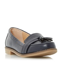 Linea Gingers Tassel Loafers Navy