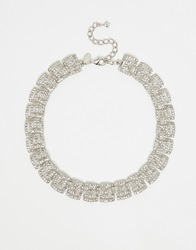 Coast Deco Necklace Silver