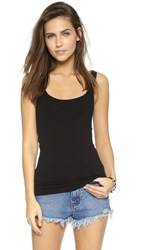 Free People Seamless Scoop Tank Black