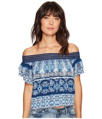 Rip Curl Dream On Top Blue Women's Clothing