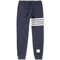 Thom Browne Distressed Stripe Sweat Pant Blue