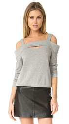 Bailey 44 Ground Swell Sweatshirt Heather Grey