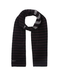 Hamaki Ho Oblong Scarves Black
