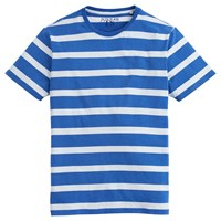 Joules Boathouse Striped Cotton T Shirt Blue Cream
