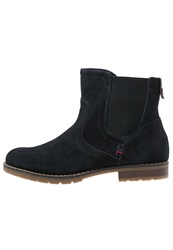 Tom Tailor Ankle Boots Navy Dark Blue