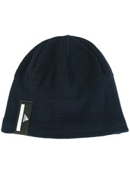 Adidas By Stella Mccartney 'Run' Beanie Blue