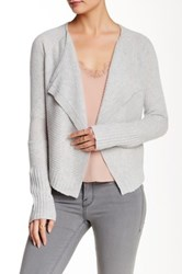 Loma Ribbed Cashmere Waterfall Shrug Multi