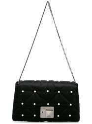 Sonia Rykiel Studded Shoulder Bag Black