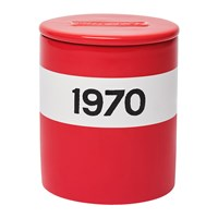 Bella Freud 1970 Candle Large Red