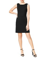 Betsey Johnson Scuba Crepe Dress Black