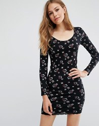 Pepe Jeans Holly Floral Dress 0Aamulti Black