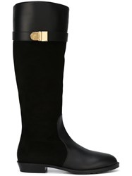 Giuseppe Zanotti Design Knee High Boots Black
