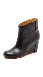 Maison Martin Margiela Colorblock Wedge Booties
