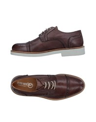 Bruno Verri Lace Up Shoes Dark Brown