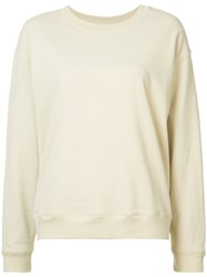 Organic By John Patrick Knitted Sweater Women Cotton M Nude Neutrals