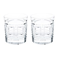 Ralph Lauren Home Greenwich Double Old Fashioned Tumblers Set Of 2
