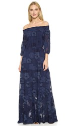 Shoshanna Rosalyn Dress Navy