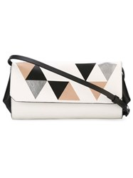 Desa 1972 'Eleven' Cross Body Bag White
