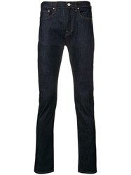 Paul Smith Ps By Straight Cut Jeans Blue