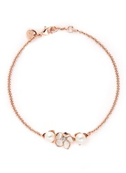 Shaun Leane Cherry Blossom Diamond And Cultured Pearl Bracelet Metallic