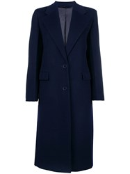 Joseph Magnus Tailored Coat Blue