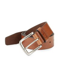Tallia Orange Leather Belt Brown