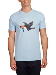 Hymn Tony Toucan Graphic T Shirt Blue