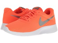 Nike Tanjun Se Total Crimson White Metallic Pewter Women's Running Shoes Orange