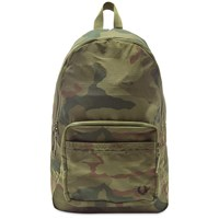 Fred Perry X Arktis Camo Backpack Green