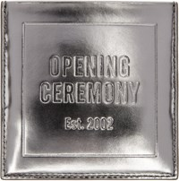 Opening Ceremony Silver Square Card Holder