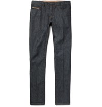 Berluti Slim Fit Denim Jeans Blue