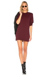 Cotton Citizen Tokyo Mini Dress Wine