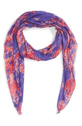 Women's Sole Society Abstract Dye Print Scarf