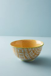 Anthropologie Marta Serving Bowl Yellow