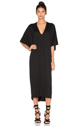 Riller And Fount Luca Caftan Maxi Dress Black