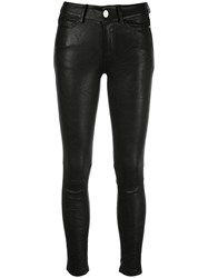 Zadig And Voltaire Phlame Skinny Trousers Black