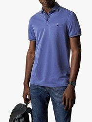 Ted Baker Earbus Polo Shirt Mid Blue
