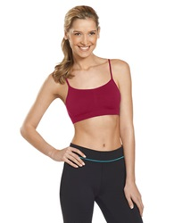 Jockey Modern Micro Crop Top Hot Party Pink