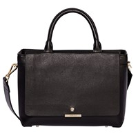 Modalu Bess Leather Mini Tote Bag Black