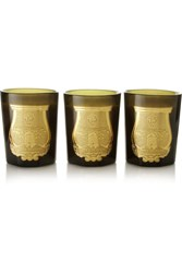 Cire Trudon Odeurs Royales Set Of Three Scented Candles Colorless