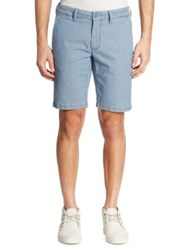 Saks Fifth Avenue Pin Dotted Shorts Stone Bleach