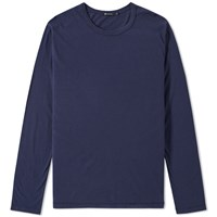Alexander Wang T By Long Sleeve Classic Tee Blue