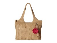 The Sak Casual Classics Large Tote Bamboo Gold 1 Tote Handbags Beige
