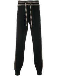Missoni Knitted Waistband Track Pants Black