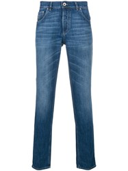 Brunello Cucinelli Slim Fit Jeans Blue