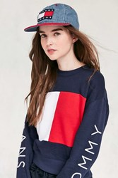 Tommy Hilfiger Club Baseball Hat Blue