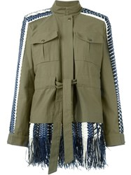 Sea Military Layered Jacket Green