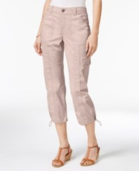Styleandco. Style Co. Cargo Capri Pants Only At Macy's Pink Bliss